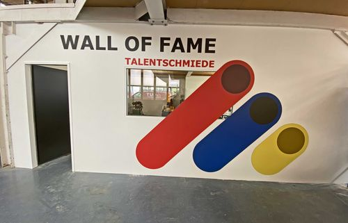 Talentschmiede mit Wall of Fame
